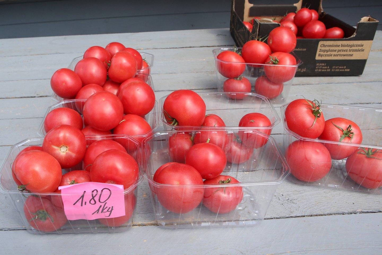 pomidorai, kaina<br>M.Patašiaus asociatyvinuotr.
