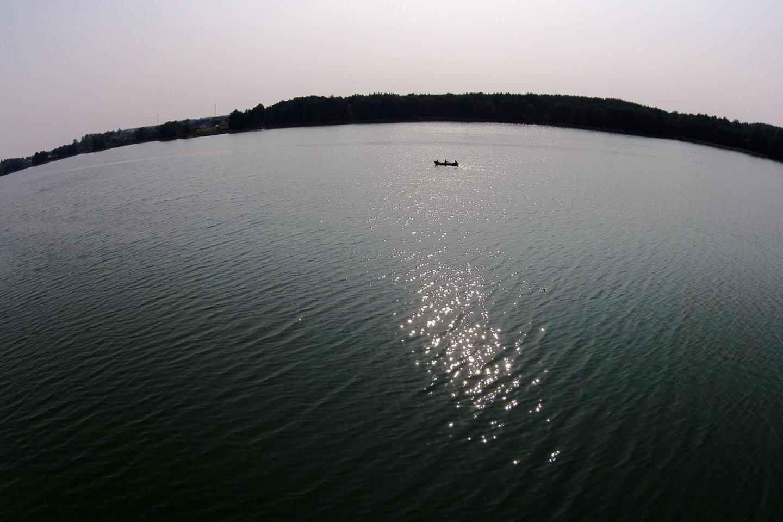 Per konfliktą ežero viduryje sumušti du žvejoję vyrai.<br>A.Vaitkevičiaus asociatyvi nuotr.