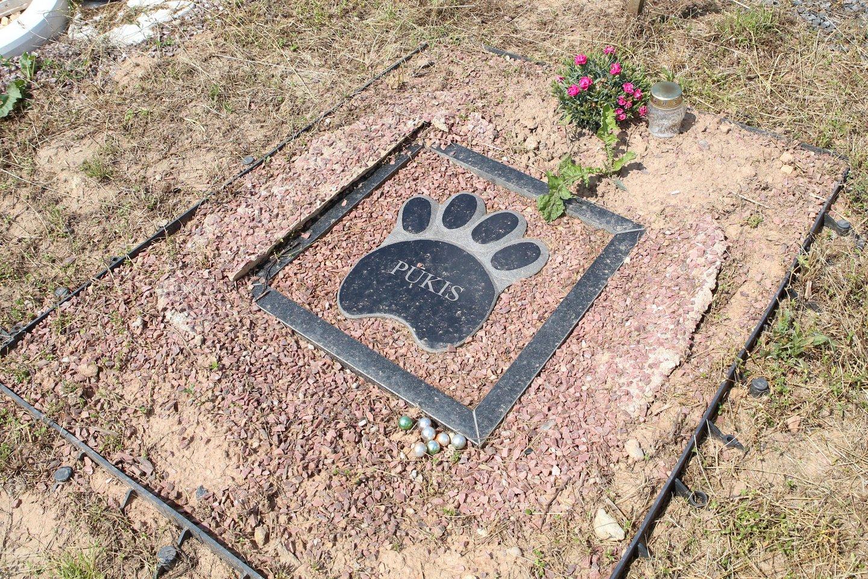 Sprendimas Vainatrakyje įrengti naminių gyvūnų kapines visiškai pasiteisino.<br>M.Patašiaus nuotr.