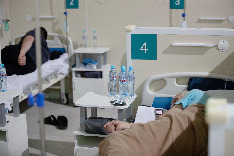 Organų transplantacijos Rusijoje atidedamos, nes šalyje nebuvo registruotas nei vienas tirpalas, reikalingas donorų plaučiams gabenti.<br>Scanpix/TASS asociatyvi nuotr.