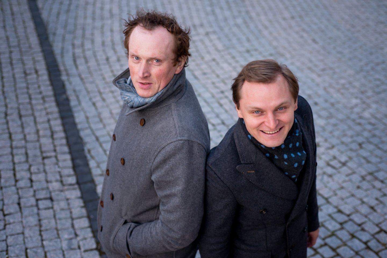 Liudas Mikalauskas ir Egidijus Bavikinas.<br>Archyvo nuotr.