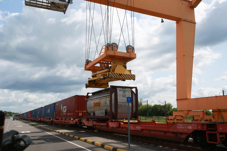 Artimiausiu metu Kauną pasieks du krovininiai traukiniai per savaitę.<br>G.Bitvinsko nuotr.