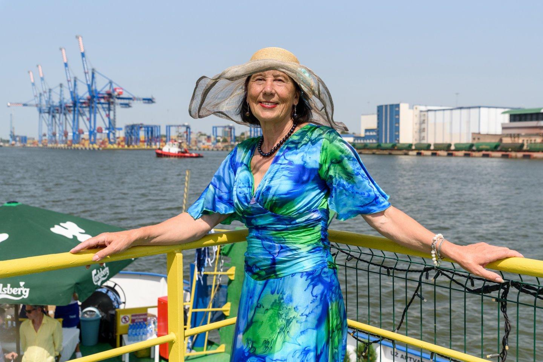 """Tarptautinio verslo žurnalo """"Jūra-More-Sea"""" leidėja Zita Tallat-Kelpšaitė.<br>A.Kubaičio nuotr."""