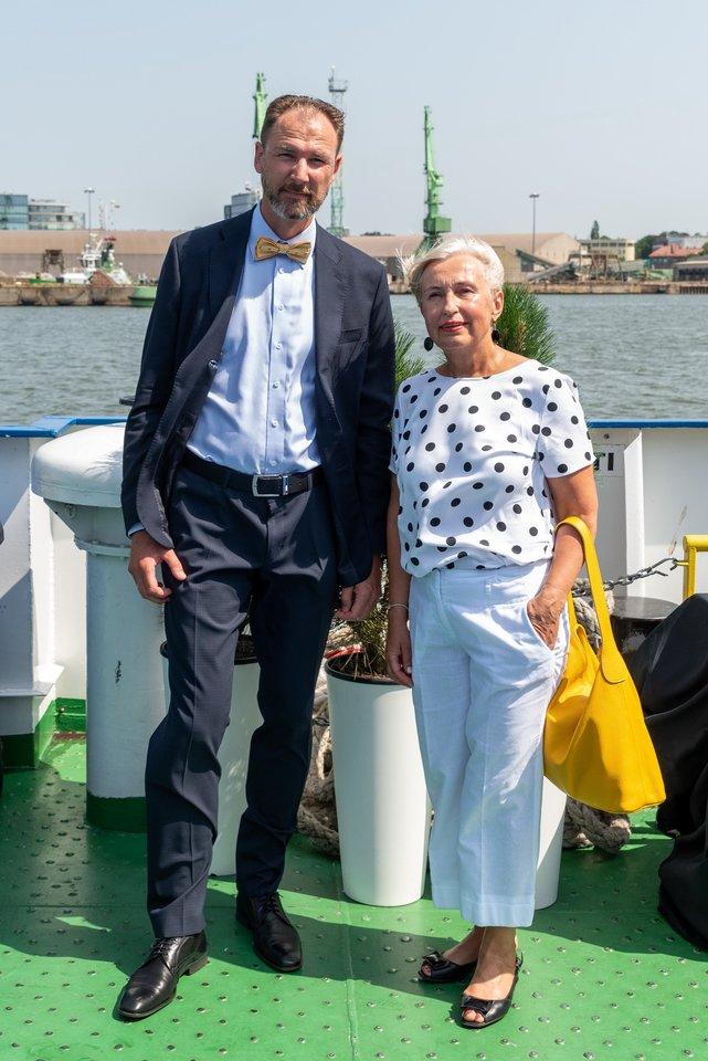 O.Žalienė ir G.Kutka.<br>A.Kubaičio nuotr.
