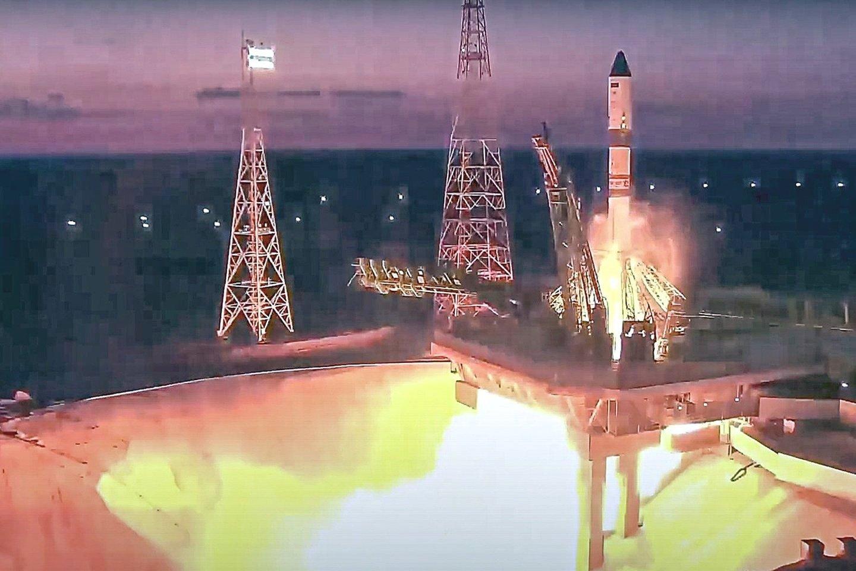 """Rusijoje skrydžius į kosmosą monopolizavusi valstybė, o kitose šalyse tuo puikiausiai užsiima privačios įmonės.<br>""""Scanpix""""/AP nuotr."""
