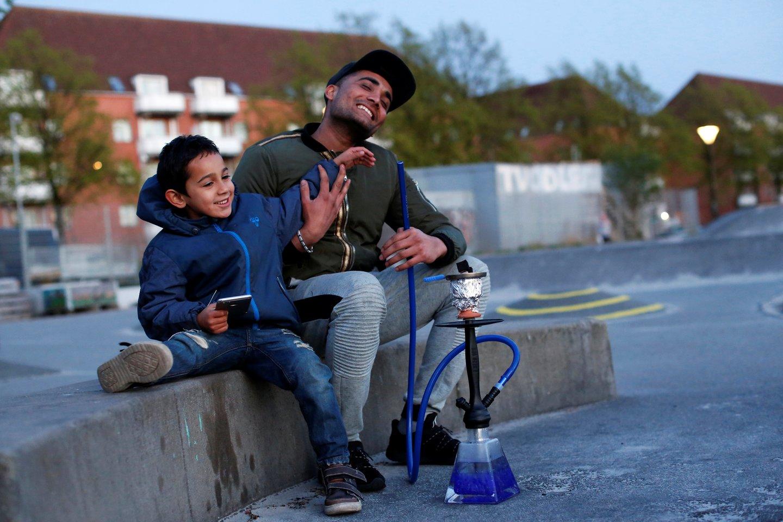 Sėkmingas kelias turi atitinkamą kainą, o viena jos sudedamųjų dalių – imigrantai.<br>Reuters/Scanpix nuotr.