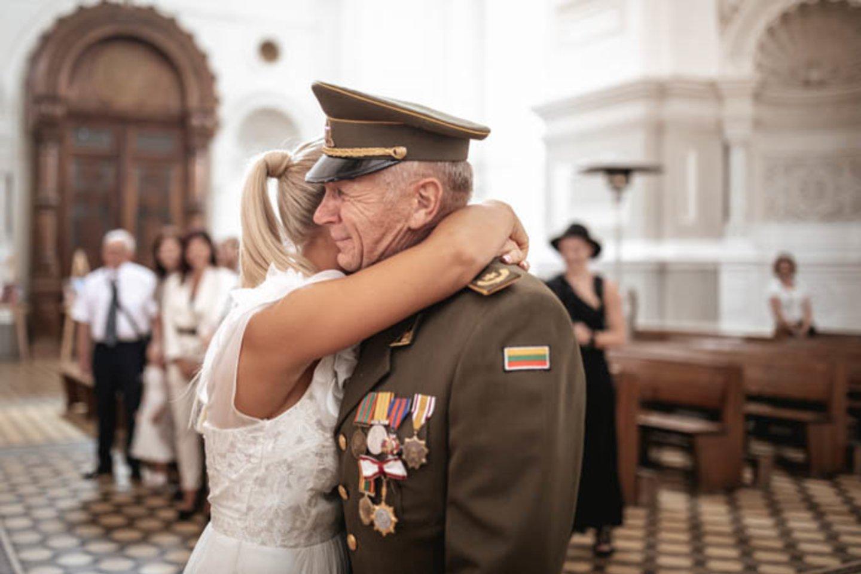 E.Straleckaitės ir D.Domarko vestuvės.<br>Germantės nuotr.