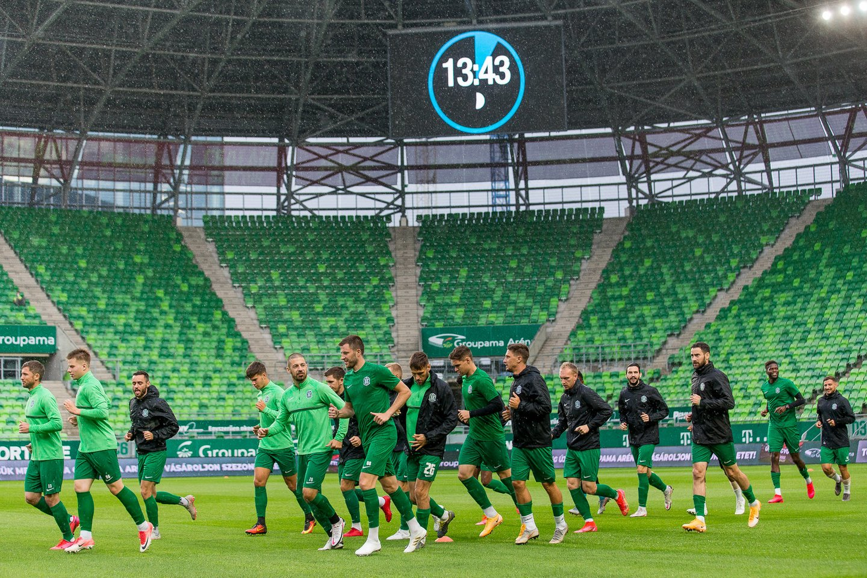 """""""Ferencvaros"""" ir """"Žalgirio"""" akistata vyks antradienį nuo 21 val. Lietuvos laiku.<br>E.Žaldario nuotr."""