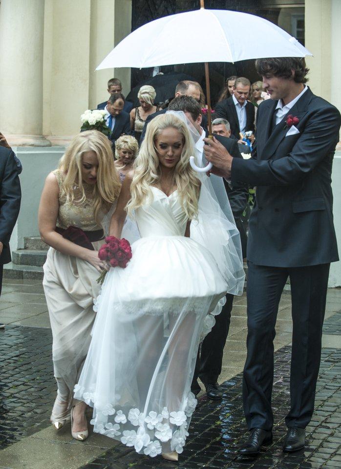 Oksanos ir Simo Jasaičių vestuvės.<br>V.Ščiavinsko nuotr.
