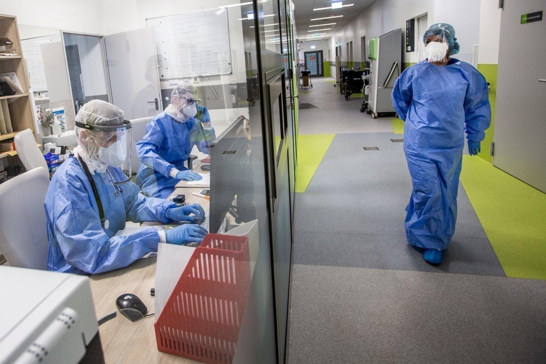 Koronavirusas Lietuvoje<br>V.Balkūno nuotr.