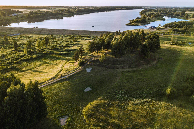 Kupiškio (Aukštupėnų) piliakalnis.