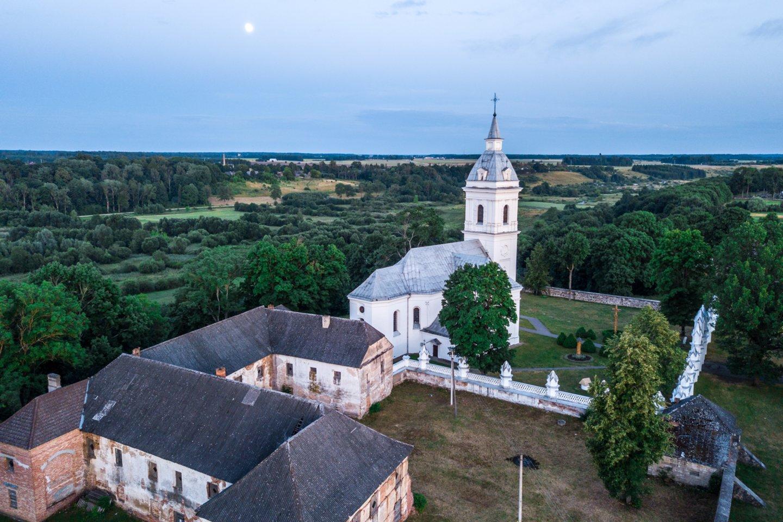 Palėvenės Šv. Domininko (Dominyko) bažnyčios ir dominikonų vienuolyno ansamblis.