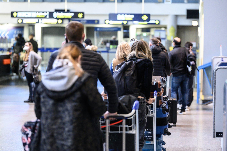 Vilniaus oro uoste vieną dieną bus galima pasiskiepyti nuo COVID-19 be registracijos.<br>V.Skaraičio nuotr.
