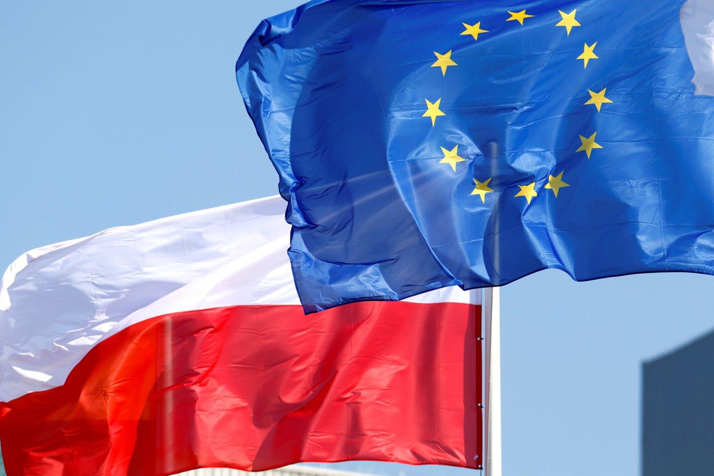 Briuselis grasina Lenkijai baudomis dėl ES teismo sprendimo nevykdymo. <br>Reuters/Scanpix nuotr.
