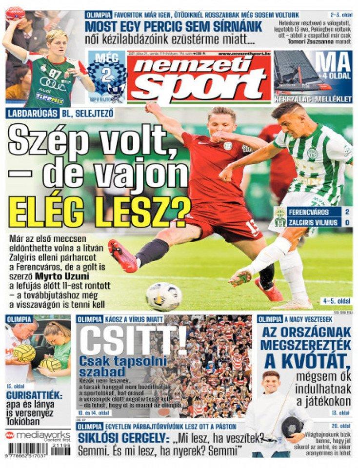 Vengrijos žiniasklaida.