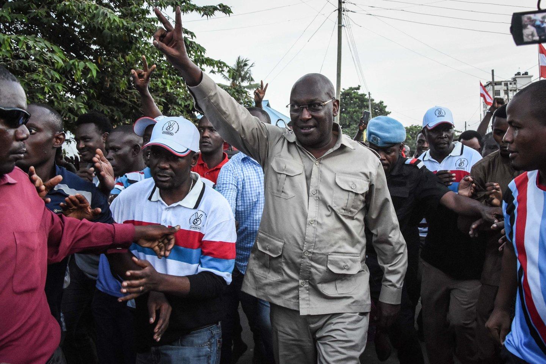 Tanzanijoje sulaikyti pagrindinės opozicijos partijos lyderis ir 10 jos narių. <br>AFP/Scanpix nuotr.