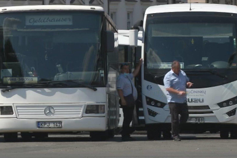 Iš sostinės autobusų stoties keleiviai gali pasiekti Minską Baltarusijoje, Lvovą Ukrainoje, Gdanską Lenkijoje. Tačiau, palyginti su 2019 metais, tai tik trečdalis tarptautinių keleivių maršrutų.<br> Stop kadras