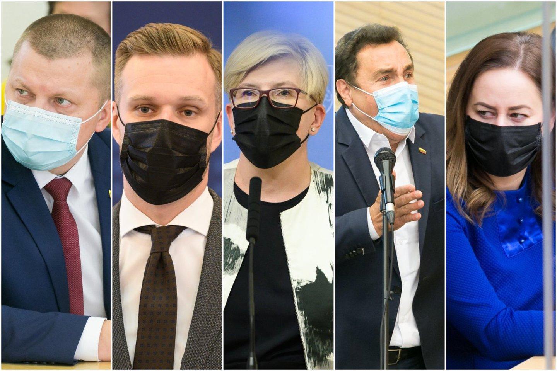 Seimūnai per pusmetį parlamentinei veiklai išleido beveik 700 tūkst. eurų: skelbia švaistūnus ir taupuolius.<br>Lrytas.lt koliažas