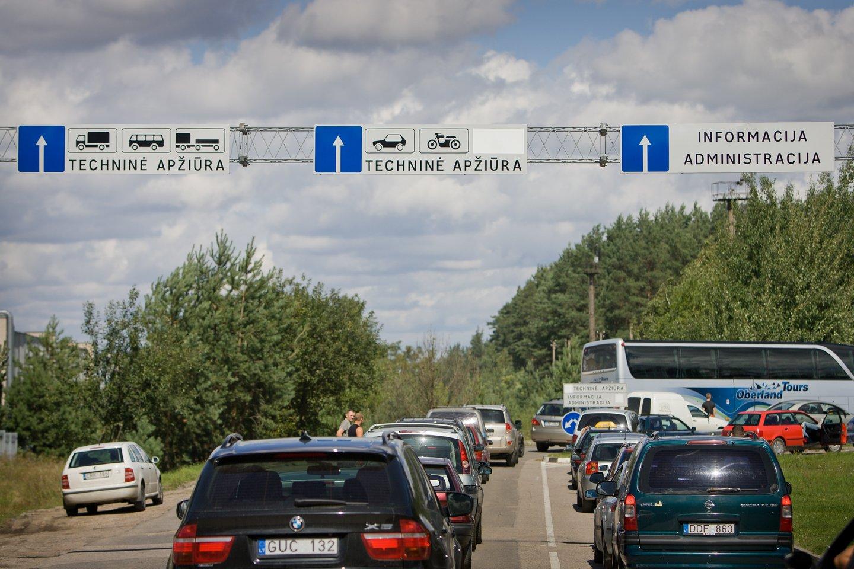 Paaiškino, kokiems automobiliams bus taikomas automobilių taršos mokestis<br>D.Umbraso nuotr.