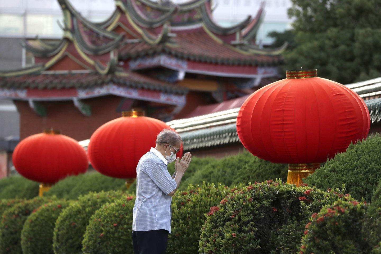 Honkongo transliuotojas uždraudė minėti Taivano vyriausybę. <br>AP Photo/Chiang Ying-ying/Scanpix nuotr.