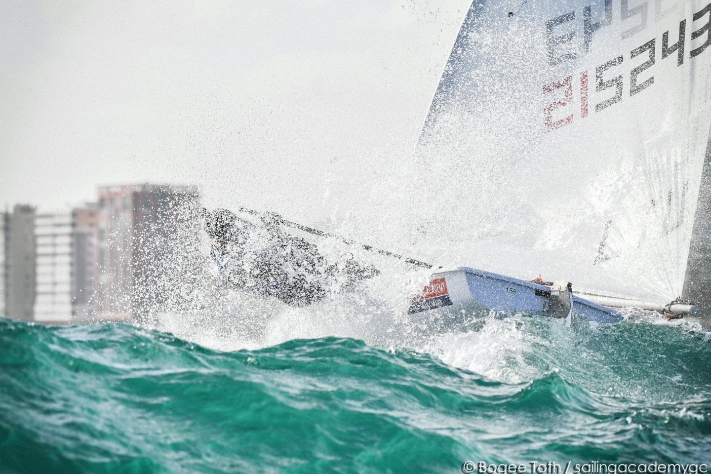 """V.Andrulytė jau gerai pažįsta Japoniją, tačiau pabrėžė, kad kaitra taps rimtu i<br>""""Sailing Energy"""" nuotr."""