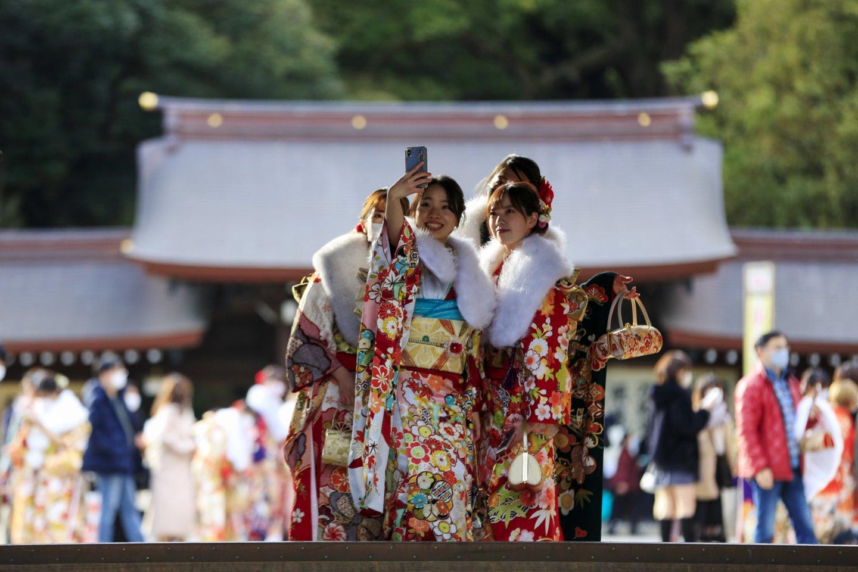 Sportininkams nepavyks aplankyti garsiųjų šventyklų.<br>AP/Scanpix nuotr.