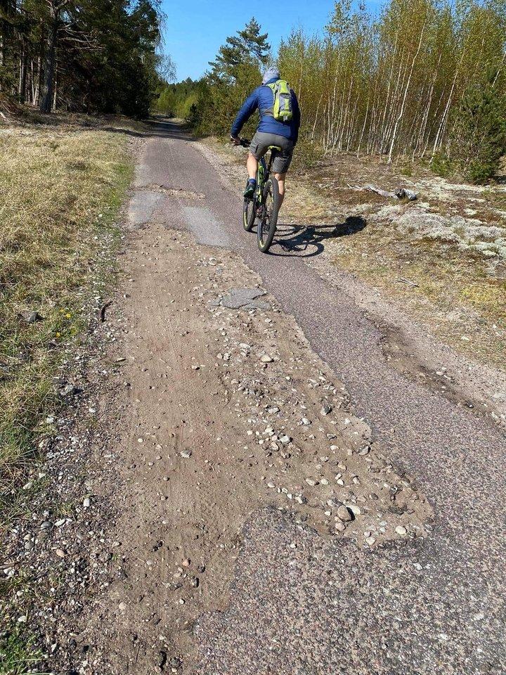 Susisiekimo ministerija pranešė, kad paskelbtas viešasis pirkimas pėsčiųjų ir dviračių tako Smiltynė-Nida projektavimui.<br>Pauliaus Matulevičiaus nuotr.