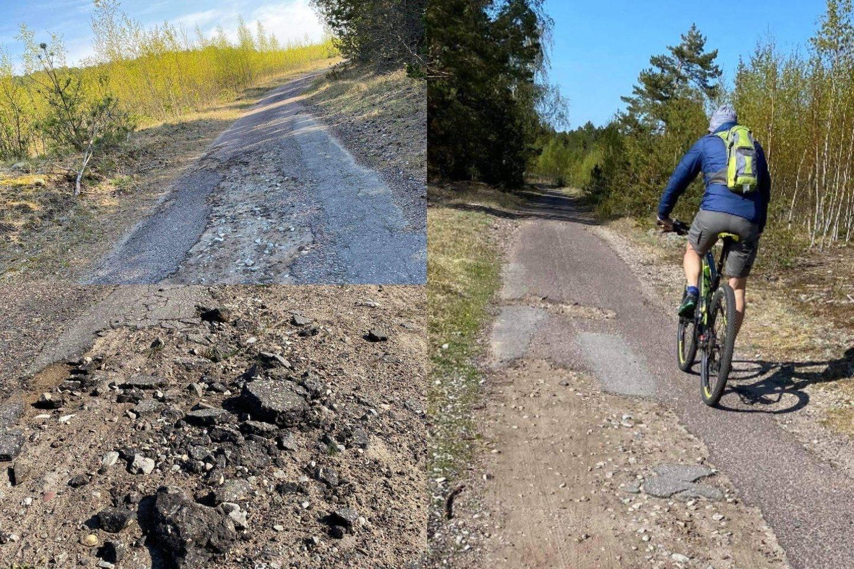 Susisiekimo ministerija pranešė, kad paskelbtas viešasis pirkimas pėsčiųjų ir dviračių tako Smiltynė-Nida projektavimui.<br>lrytas.lt fotomontažas