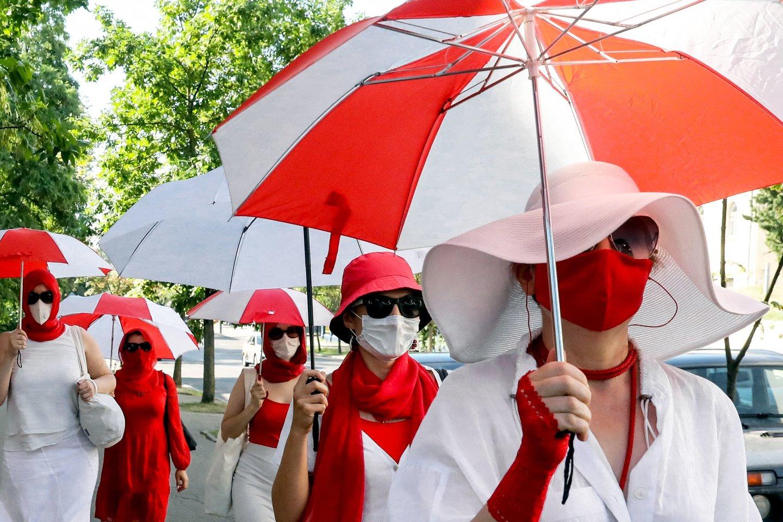 Baltarusijos teisingumo ministerija pareikalavo likviduoti žurnalistų asociaciją. <br>AFP/Scanpix nuotr.