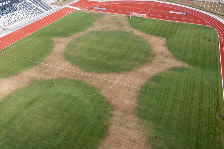 Artimiausios rungtynės stadione numatytos liepos 30 dieną.<br>V.Kalpoko nuotr.