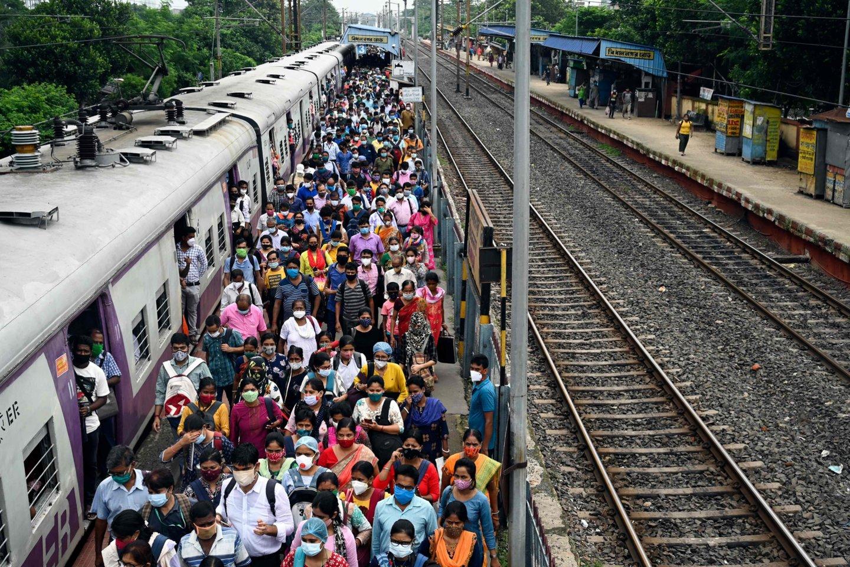 Indijoje nustatyta 46 tūkst. mirtinos infekcijos atvejų.<br>AFP/Scanpix nuotr.
