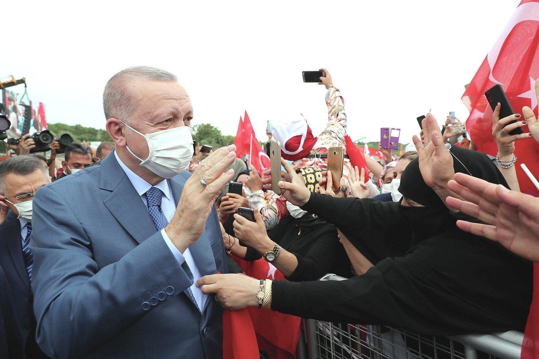 """JAV atmetė Turkijos siūlomą Kipro dviejų valstybių principu paremtą sprendimą.<br>""""Reuters""""/""""Scanpix"""" nuotr."""