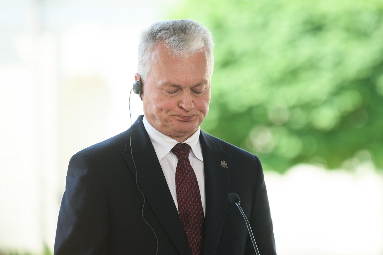 Gitanas Nausėda.<br>V.Skaraičio nuotr.