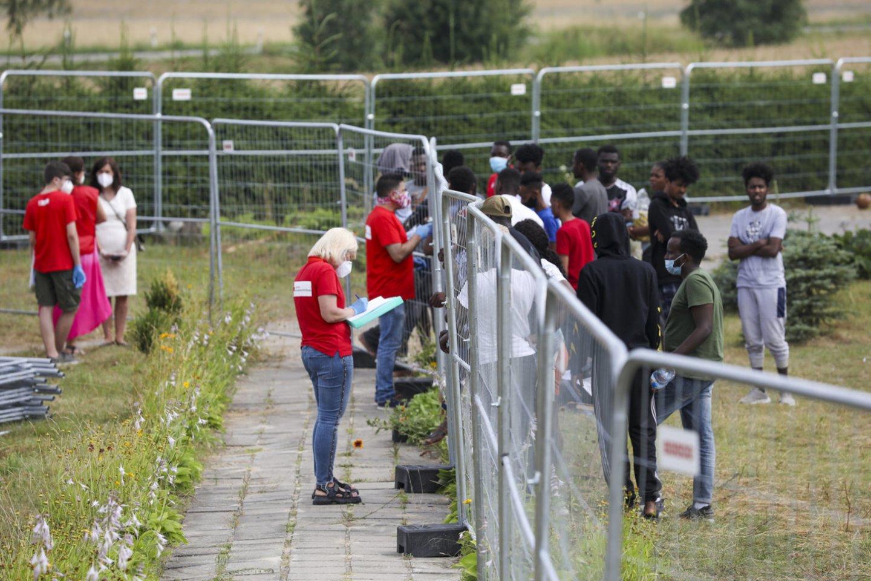 Dar prieš mėnesį apie migrantų krizę nebuvo jokios šnekos.<br>Mariaus Morkevičiaus/ELTA nuotr.