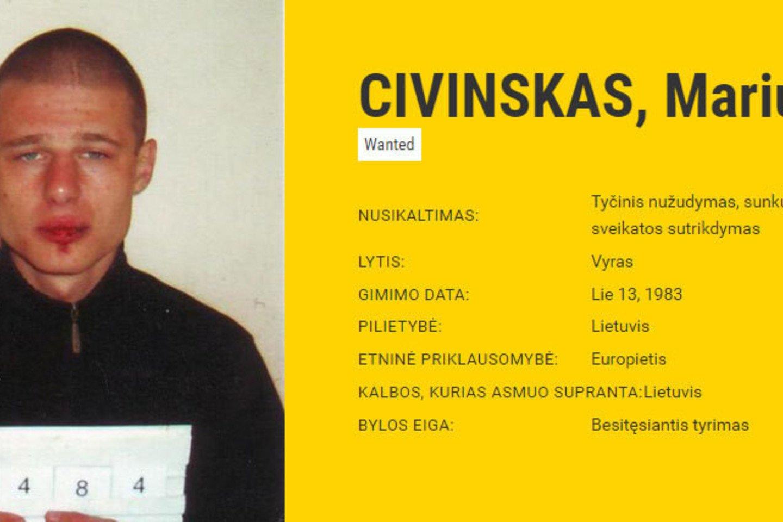 Į ieškomiausių Europos nusikaltėlių sąrašą patekęs lietuvis draugo nužudymą vadina nelaimingu atsitikimu.