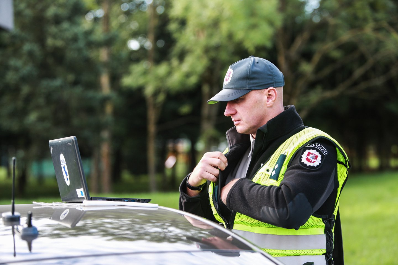 Reidas, Kaunas, Policija<br>G.Bitvinsko nuotr.