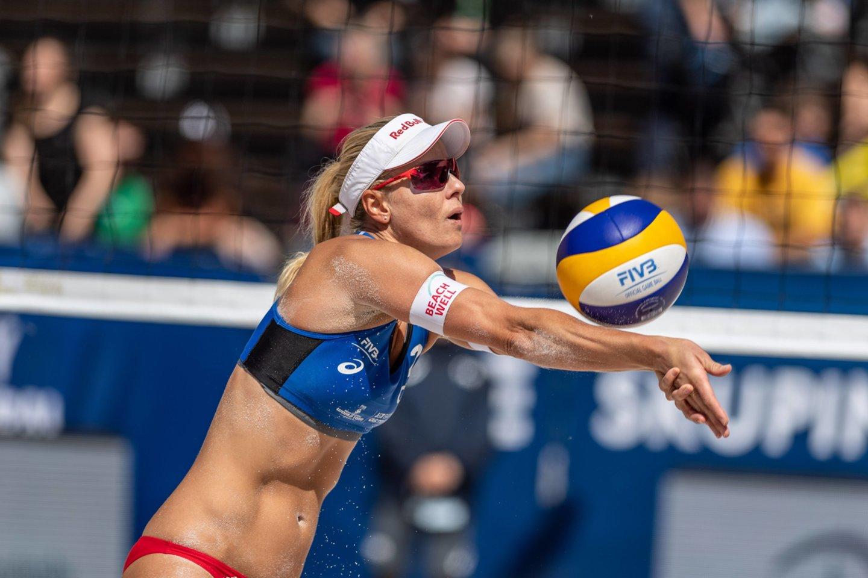 Marketa Nausch-Slukova nedalyvaus žaidynėse.<br>AFP/Scanpix.com nuotr.
