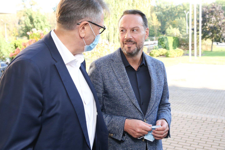 Plaukimo federacijos prezidentas Tomas Kučinskas.<br>R.Danisevičiaus nuotr.