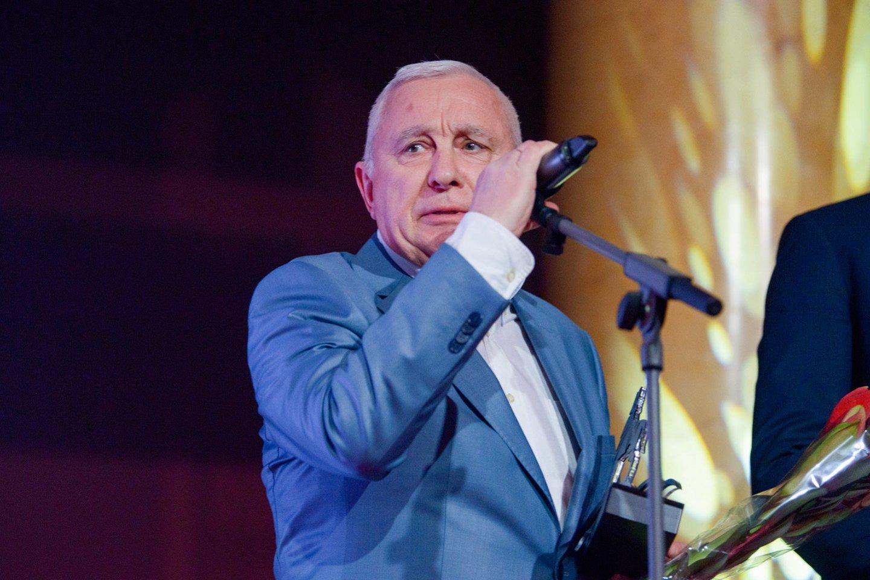 Šiuolaikinės penkiakovės generalinis sekretorius Viačeslavas Kalininas.<br>J.Stacevičiaus nuotr.