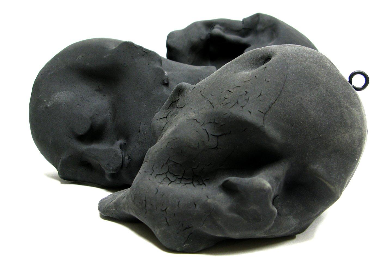 """Instaliacijos """"Jie"""" fragmentas. Autorė – Agnė Kondrataitė.<br>Galerijos nuotr."""