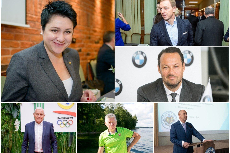 Lietuvos sporto federacijų vadovai skirtingai vertina savo sportininkų galimybes pasižymėti Tokijo olimpiadoje.<br>lrytas.lt koliažas