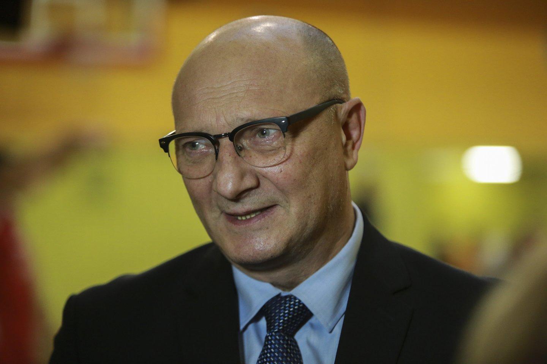 LKF prezidentu nutarė būti Ramūnas Butautas.<br>G.Bitvinsko nuotr.