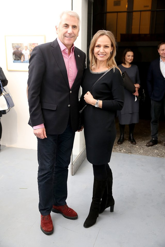 Vygaudas ir Loreta Ušackai 2018-aisiais.<br>R.Danisevičiaus nuotr.