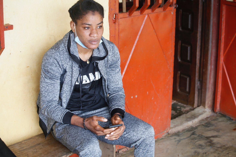 Fatoumata Yarie Camara<br>AP/Scanpix.com nuotr.