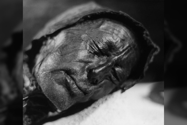 """Tolundo žmogus yra vienas garsiausių Šiaurės Europos """"pelkių mumijų"""".<br>Wikimedia commons"""
