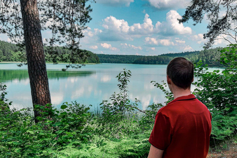Spindžiaus ežeras.<br>M.Brazdžionio nuotr.