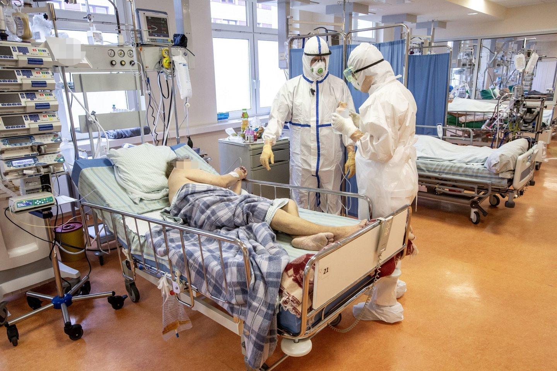 Santaros klinikos, koronavirusas Lietuvoje<br>V.Balkūno asociatyvinė nuotr.