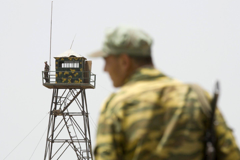 Ministerijos teigimu, šalies sienas kontroliuoja vyriausybinės pajėgos.<br>Reuters/Scanpix nuotr.