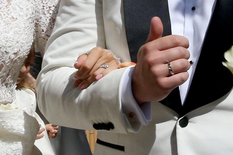 Lauryno Suodaičio ir Viktorijos Siegel vestuvės.