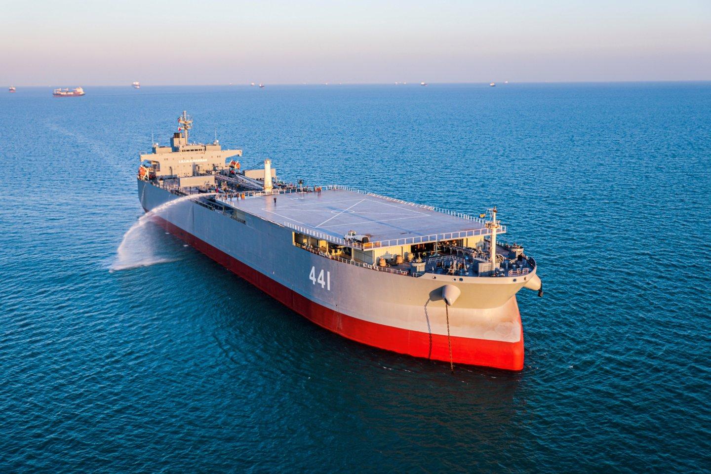 Birželio viduryje laivai, kurie tada buvo prie Vakarų Afrikos krantų, netikėtai pradėjo plaukti į šiaurę, o ne per kiaurai Atlantą.<br>Reuters/Scanpix nuotr.